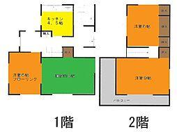 [一戸建] 神奈川県茅ヶ崎市東海岸南3丁目 の賃貸【/】の間取り