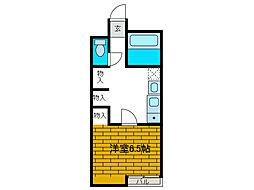 エクセル新百合丘[1階]の間取り