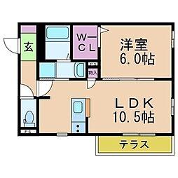 Sakae Casa[1階]の間取り