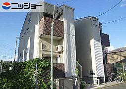 愛知県名古屋市南区明治2の賃貸アパートの外観