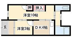 [一戸建] 愛知県名古屋市南区鳴尾1丁目 の賃貸【/】の間取り