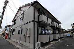 兵庫県明石市上ノ丸1丁目の賃貸アパートの外観