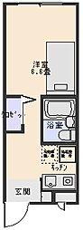 HMC賃貸ビル[406号室]の間取り