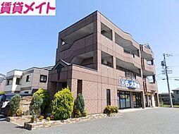 三重県松阪市曽原町の賃貸マンションの外観