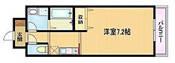 Osaka Metro谷町線 野江内代駅 徒歩7分の賃貸マンション 5階1Kの間取り