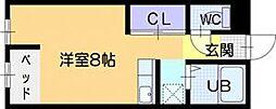 RIE3[1階]の間取り