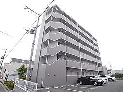 兵庫県姫路市亀山の賃貸マンションの外観
