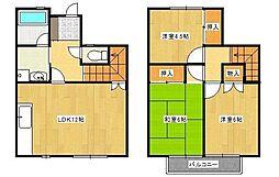 山王ガーデンハウス3街区[A2号室]の間取り