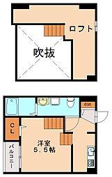 サウステージ[2階]の間取り