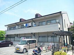 ボヌール上野芝[2階]の外観