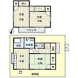 [一戸建] 埼玉県さいたま市緑区中尾 の賃貸【/】の間取り