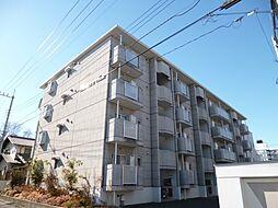 東京都羽村市小作台4丁目の賃貸マンションの外観