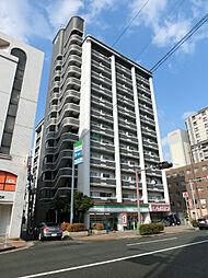福岡県北九州市小倉北区馬借3の賃貸マンションの外観