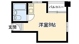 グローバル武庫川学院前[301号室]の間取り