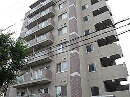 北海道札幌市北区北二十二条西6丁目の賃貸マンションの外観