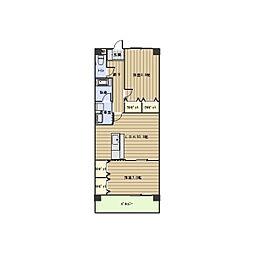 セラヴィー小池[4階]の間取り