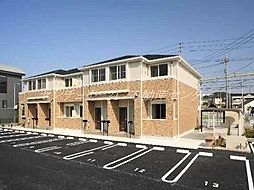 岡山県岡山市南区浜野3丁目の賃貸アパートの外観