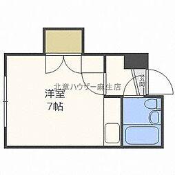 プチメゾン麻生[4階]の間取り