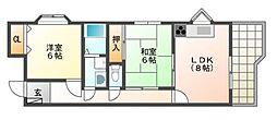 マツヤビルI[5階]の間取り