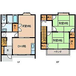 [タウンハウス] 長野県諏訪市大字四賀 の賃貸【長野県 / 諏訪市】の間取り