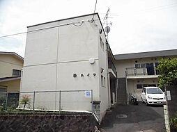 京都府京都市北区上賀茂中ノ坂町の賃貸マンションの外観