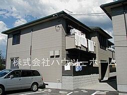 京都府城陽市平川室木の賃貸アパートの外観