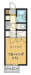 メープルリーフ[2階]の間取り