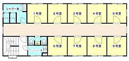 ステューディオ桜台[4階]の間取り