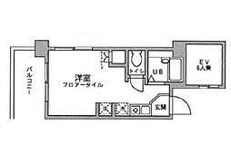 アックス横浜戸塚[501号室]の間取り