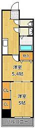 雅senbou[2階]の間取り