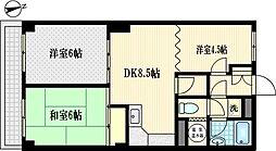 アトレ川崎[8階]の間取り