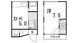 [一戸建] 兵庫県神戸市須磨区東町4丁目 の賃貸【兵庫県 / 神戸市須磨区】の間取り