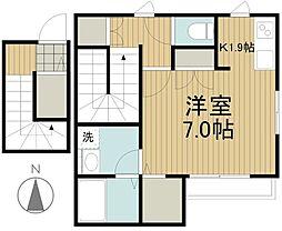 メゾンR[2階]の間取り