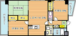 珪州館III[3階]の間取り