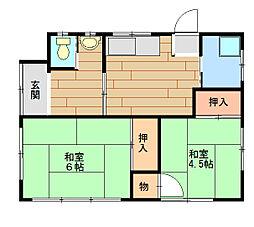 [一戸建] 千葉県成田市並木町 の賃貸【/】の間取り