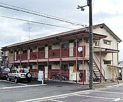 京都府京都市右京区太秦八反田町の賃貸アパートの外観