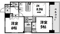 エステムプラザ梅田・中崎町IIIツインマークスサウスレジデンス[10階]の間取り
