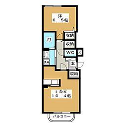 エクセレント本郷[2階]の間取り