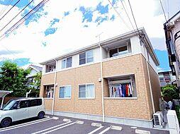 東京都東久留米市滝山3丁目の賃貸アパートの外観