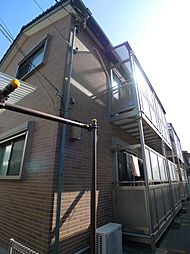 埼玉県蕨市中央3丁目の賃貸アパートの外観