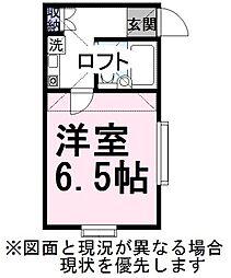 ウィングステージ[2階]の間取り