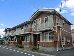 兵庫県姫路市飾磨区今在家6丁目の賃貸アパートの外観