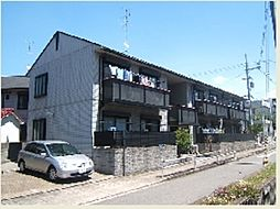 ジョイフルハイツ富木B[2階]の外観