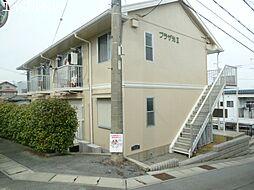 三重県松阪市光町の賃貸アパートの外観