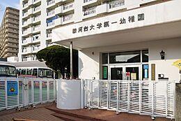 駿河台大学第一幼稚園まで868m