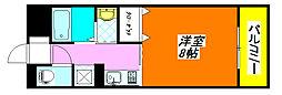 ネモフィラ・東大阪 506号室[5階]の間取り