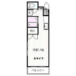 ピアハイツ21[304号室]の間取り