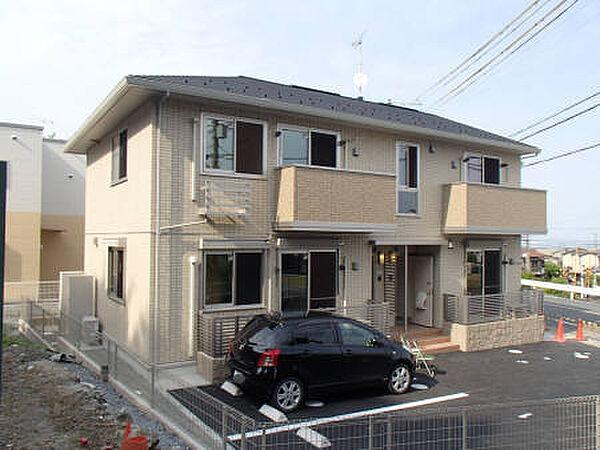 滋賀県大津市穴太3丁目の賃貸アパートの外観