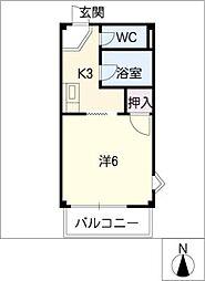 サープラスI東郷[2階]の間取り