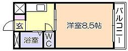 ニュー端山ビル[405号室]の間取り